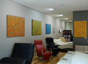 Gerzabek abstract paintings