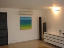 photo of seacape painting