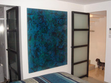 photo of ocean deep painting