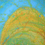 after the rains bird's eye view landscape painting